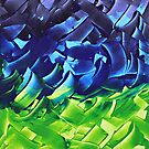 Energetic Abstractions - Chakra Colours #2/2 by Rosetta Elsner ARTist