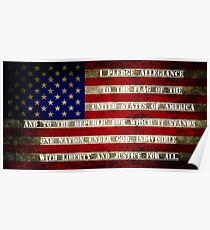 The Flag of America - Independence Day Gift Poster