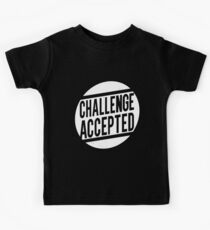 Challenge Accepted Kids Tee
