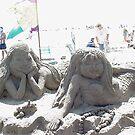 Sand Art - Mermaids Bolsa Chica State Beach, CA, 521 views 4-6-13) by leih2008