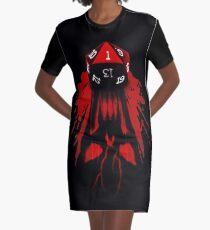 Critical Fail Graphic T-Shirt Dress
