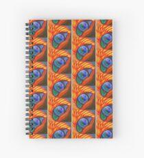 Phoenix Eye Spiral Notebook