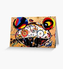Tan Tan Bo by Takashi Murakami Greeting Card