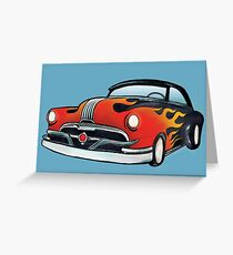Hot Rod Greeting Card