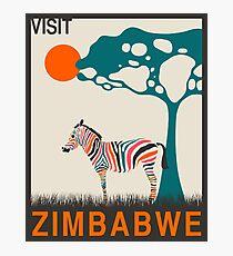 Zimbabwe (v2) Photographic Print