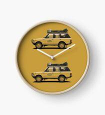 Range Rover Classic 4doors Camel Trophy Clock