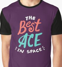 The best ACE is space Graphic T-Shirt