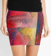 Colorful Trinity  Mini Skirt