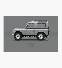 Series 3 Station Wagon 88 Mid Grey Photographic Print