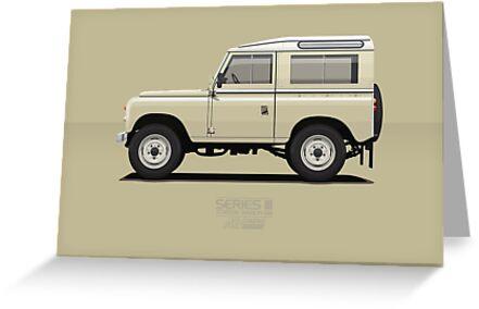 "series 3 station wagon 88 limestone"" greeting cardsarvwerks"