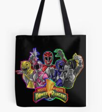 Power Rangers! Tote Bag