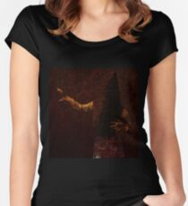 Bloody Pyramid Head Women's Fitted Scoop T-Shirt