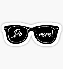 Casey Neistat do more sunglasses Sticker