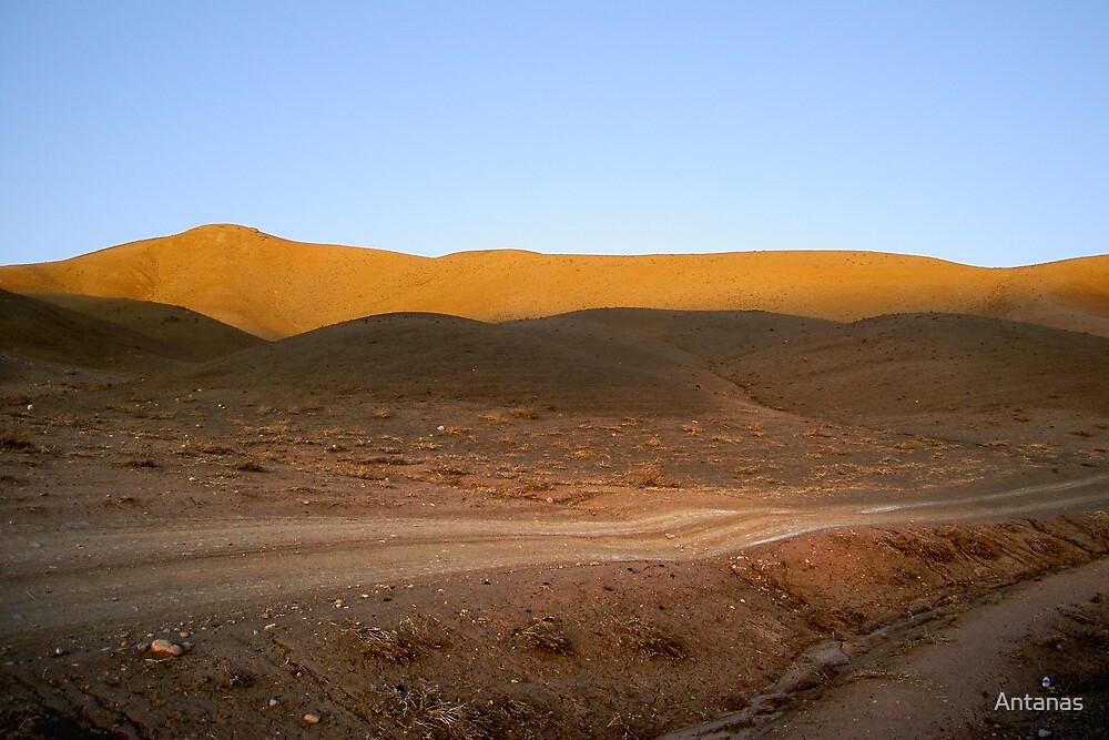 Afghanistan landscape by Antanas