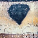 Black heart by Silvia Ganora