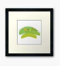 Eco Planet Framed Print