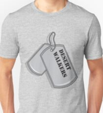 Dog Tag The Desert Walkers T-Shirt