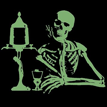 Absinthe Shirts Skeleton by losfutbolko