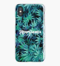 Marijuana's effect iPhone Case/Skin