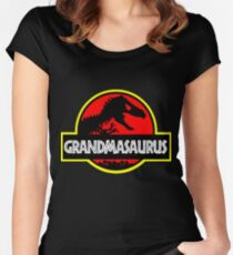 Grandmasaurus - Rex - Funny Grandma T-Shirts Women's Fitted Scoop T-Shirt