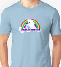 Funny Death Metal Unicorn Unisex T-Shirt