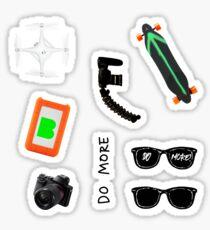 Casey Neistat gear STICKER PACK of 8 in 1 Sticker