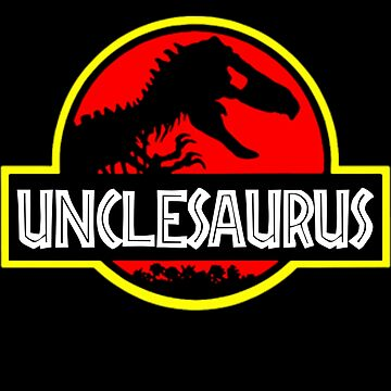 Unclesaurus Rex - Funny Uncle T-Shirts by Meli145
