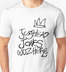 Jughead Jones wuz here Unisex T-Shirt