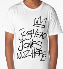 Jughead Jones wuz here Long T-Shirt