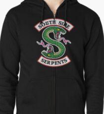 South Side Serpents  Zipped Hoodie
