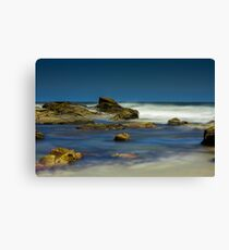 Long exposure ocean - 02 Canvas Print
