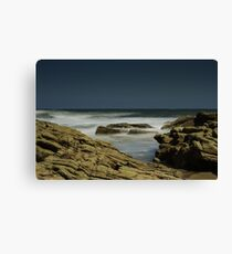 Long Exposure beach - 03 Canvas Print