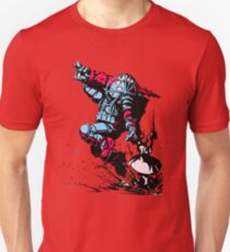 Red Blue Bio shock T-Shirt