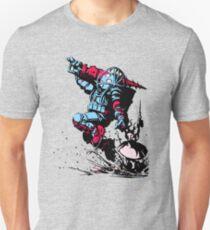 Red Blue Bio shock Unisex T-Shirt