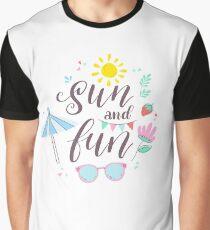 Sun And Fun Graphic T-Shirt