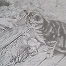 CURIOUS KITTEN by ARTHUR CARLTON