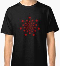 Mandala 31 Colour Me Red Classic T-Shirt