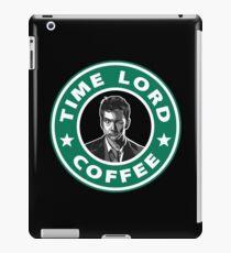 Time Lord David Tennant Coffee iPad Case/Skin