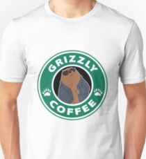 Grizzly Coffee Unisex T-Shirt