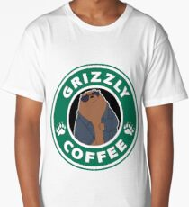 Grizzly Coffee Long T-Shirt