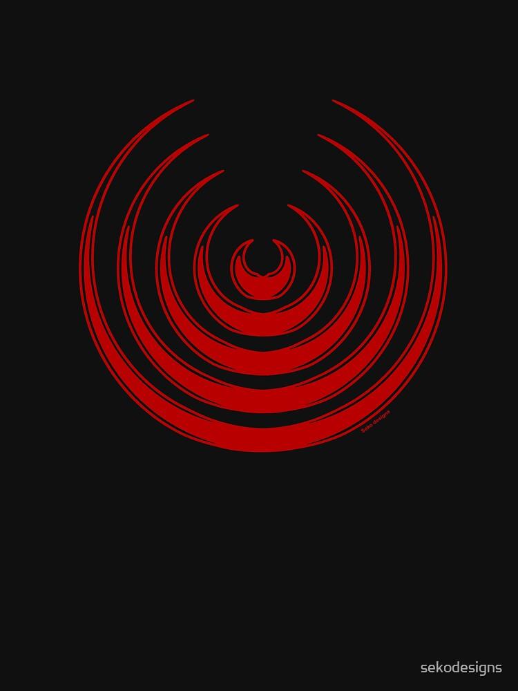 Mandala 8 Colour Me Red by sekodesigns