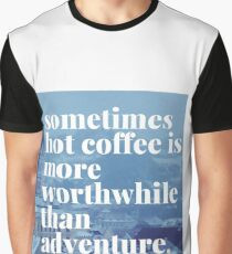 Coffee and travel Graphic T-Shirt