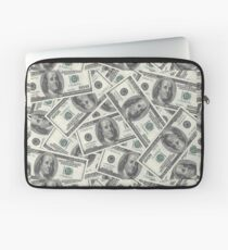 Money Money Novelty Dollars Laptop Sleeve