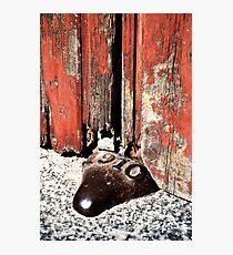 Doorstop Photographic Print