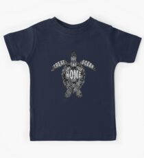 OCEAN OMEGA (MONOCHROME) Kids Clothes