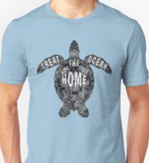 OCEAN OMEGA (MONOCHROME) T-Shirt