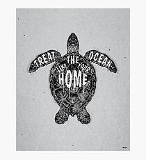 OCEAN OMEGA (MONOCHROME) Fotodruck