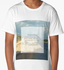 Traveling leaves you speechless Long T-Shirt