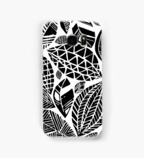 Geometrical nature print / little geometric leaves Samsung Galaxy Case/Skin