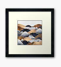 Hills 2 Framed Print